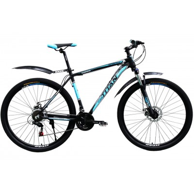 "Titan Scorpion 29"" Black-Blue-White"