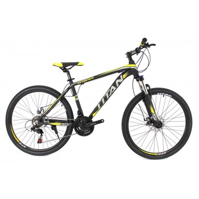 "Titan Scorpion 26"" Black-Gray-Yellow"