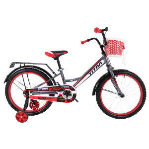 "Titan Jet 20"" Gray-Red"
