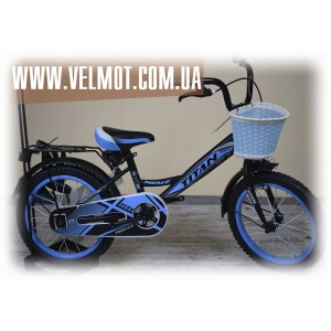"Titan Mirage 16"" Black-Blue"