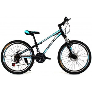 Cross Racer 24 Black-Blue-White