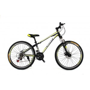 Cross Racer 26 Black-Lightgreen-White