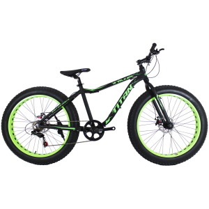 "Titan Stalker 26"" Black-Green"