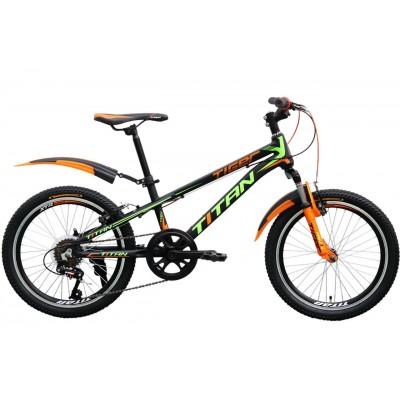 "Titan Tiger 20"" Black-Orange-Green"