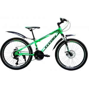 "Titan Forest 24"" Green-Black-White"